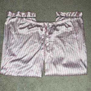 Victoria secret satin PJ pants